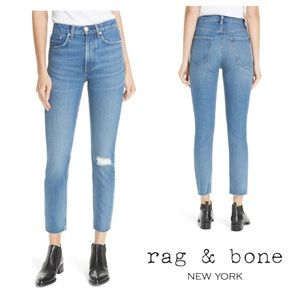 Rag & Bone High Waist Ankle Pamela Jeans | 31